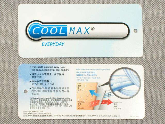 COOLMAX クールマックス タグ